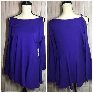 Free People Tops - Free People Clear Skies Violet Tunic XS